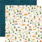 Echo Park - The Great Outdoors Collection - 12 x 12 Double Sided Paper - Icon