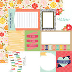 Echo Park - Handmade Collection - 12 x 12 Double Sided Paper - Journaling