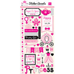 Echo Park - Princess Collection - Cardstock Stickers