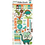 Echo Park - Dinosaur Adventure Collection - Cardstock Stickers