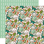 Echo Park - Dinosaur Adventure Collection - 12 x 12 Double Sided Paper - Safari