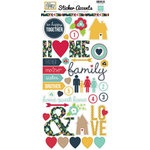 Echo Park - Our Family Collection - Cardstock Stickers