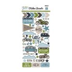 Echo Park - My Little Boy Collection - Cardstock Stickers