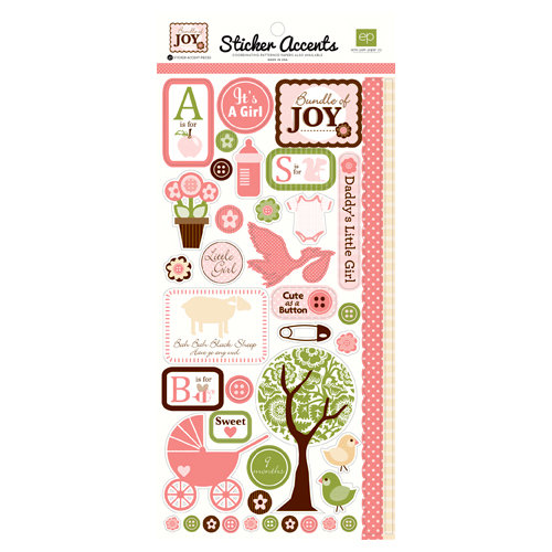 Echo Park - Bundle of Joy Collection - Cardstock Stickers