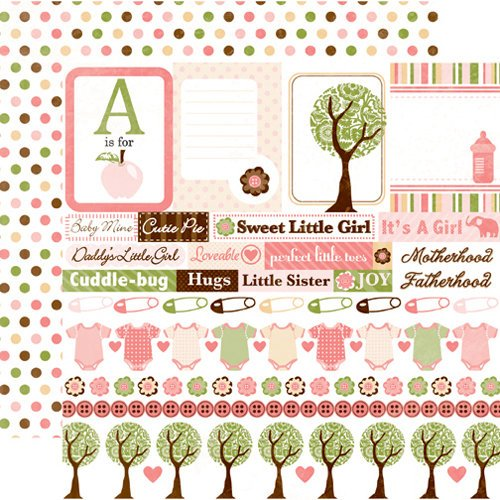 Echo Park - Bundle of Joy Collection - 12 x 12 Double Sided Paper - Journaling