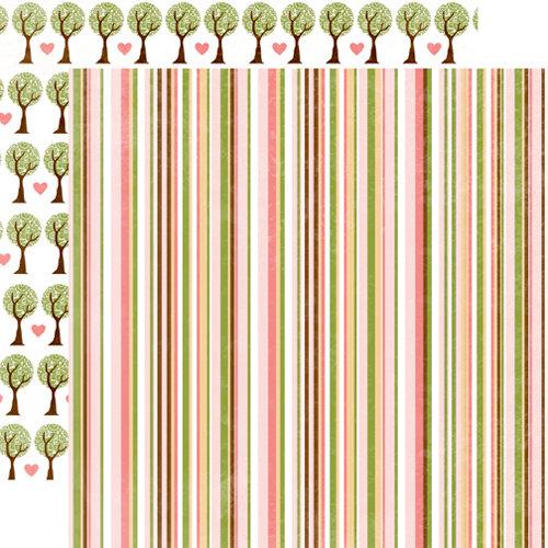 Echo Park - Bundle of Joy Collection - 12 x 12 Double Sided Paper - Stripe