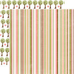 Echo Park - Bundle of Joy Collection - 12 x 12 Double Sided Paper - Stripe