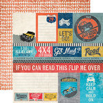 Echo Park - Off Road Collection - 12 x 12 Double Sided Paper - Journaling Cards