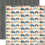 Echo Park - Off Road Collection - 12 x 12 Double Sided Paper - Trucks