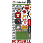 Echo Park - Football Collection - Cardstock Stickers