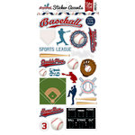 Echo Park - Baseball Collection - Cardstock Stickers
