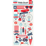 Echo Park - Sweet Liberty Collection - Cardstock Stickers