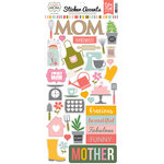 Echo Park - Beautiful Mom Collection - Cardstock Stickers