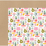 Echo Park - Beautiful Mom Collection - 12 x 12 Double Sided Paper - I Love My Mom