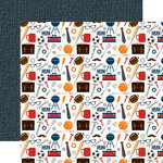 Echo Park - Team Dad Collection - 12 x 12 Double Sided Paper - Everything Dad