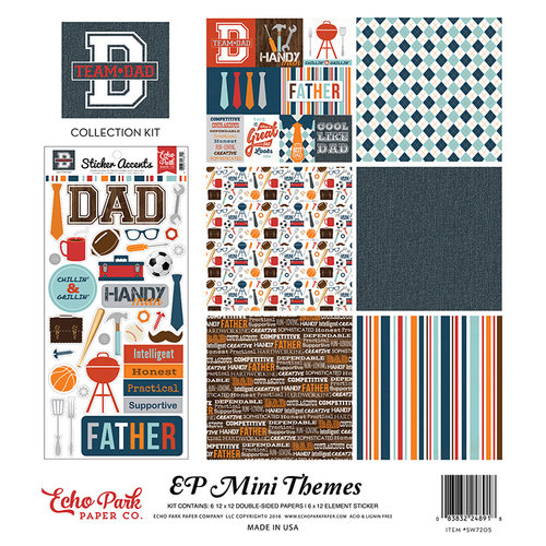 Echo Park - Team Dad Collection - 12 x 12 Collection Kit