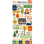 Echo Park - Summer Camp Collection - Cardstock Stickers