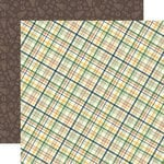 Echo Park - Summer Camp Collection - 12 x 12 Double Sided Paper - Plaid