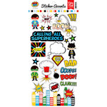 Echo Park - Superhero Collection - Cardstock Stickers