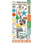 Echo Park - Boy Cousin Collection - Cardstock Stickers
