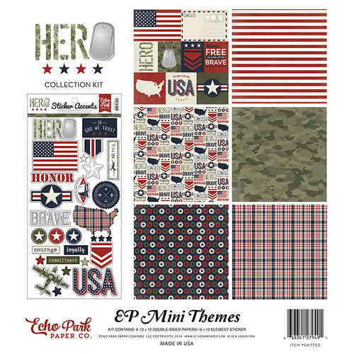 Echo Park - Hero Collection - 12 x 12 Collection Kit
