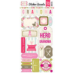 Echo Park - Grandma Collection - Cardstock Stickers