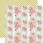 Echo Park - Grandma Collection - 12 x 12 Double Sided Paper - Vintage Floral