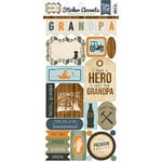 Echo Park - Grandpa Collection - Cardstock Stickers