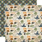 Echo Park - Grandpa Collection - 12 x 12 Double Sided Paper - Grandpa Favorites