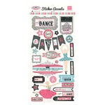 Echo Park - Le Ballet Collection - Cardstock Stickers