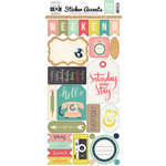 Echo Park - Everyday Memories Collection - Cardstock Stickers