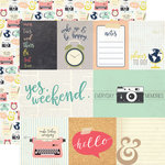 Echo Park - Everyday Memories Collection - 12 x 12 Double Sided Paper - Journaling Cards