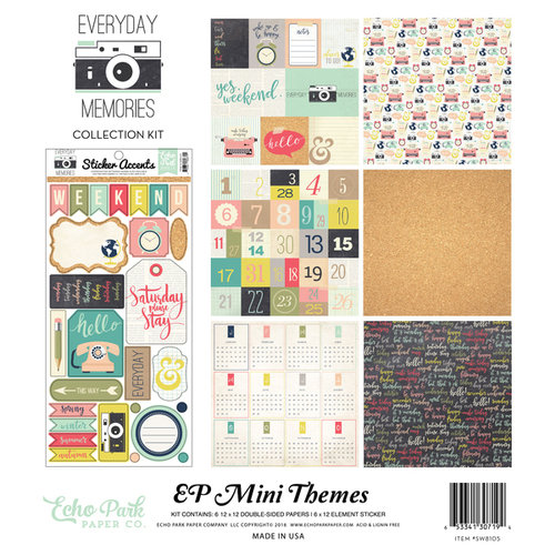 Echo Park - Everyday Memories Collection - 12 x 12 Collection Kit