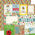 Echo Park - Bug Collection - 12 x 12 Double Sided Paper - Journaling Cards