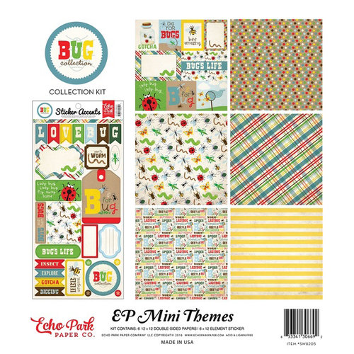 Echo Park - Bug Collection - 12 x 12 Collection Kit