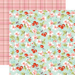 Echo Park - Granddaughter Collection - 12 x 12 Double Sided Paper - Granddaughter Floral