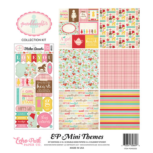 Echo Park - Granddaughter Collection - 12 x 12 Collection Kit