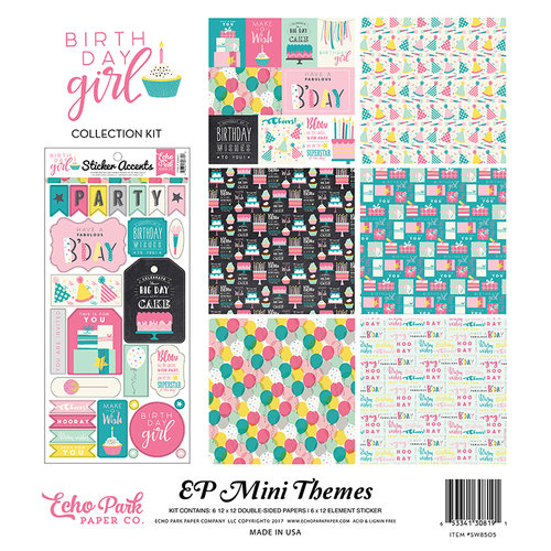 Echo Park - Birthday Girl Collection - 12 x 12 Collection Kit