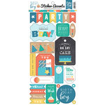 Echo Park - Birthday Boy Collection - Cardstock Stickers