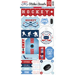 Echo Park - Hockey Collection - Cardstock Stickers