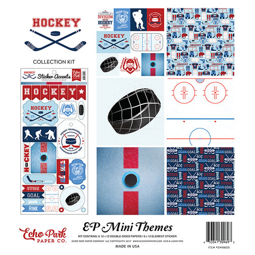Echo Park - Hockey Collection - 12 x 12 Collection Kit