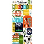 Echo Park - Soccer Collection - Cardstock Stickers