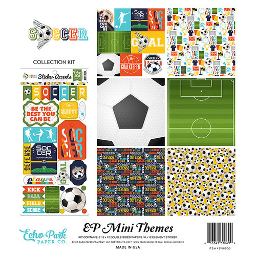 Echo Park - Soccer Collection - 12 x 12 Collection Kit