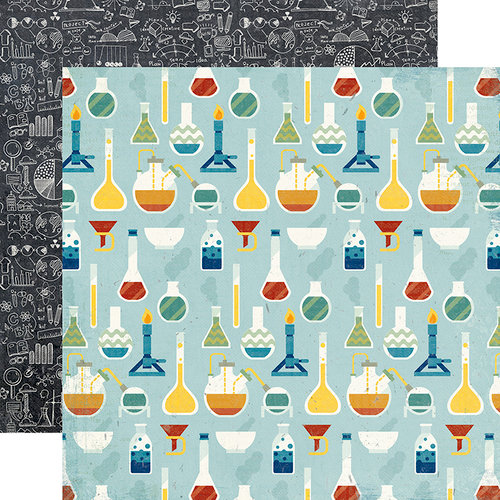 Echo Park - Science Fair Collection - 12 x 12 Double Sided Paper - Science Experiment