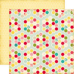 Echo Park - Sweet Girl Collection - 12 x 12 Double Sided Paper - Quilt Blocks