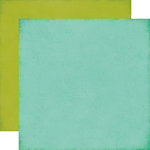 Echo Park - Sweet Girl Collection - 12 x 12 Double Sided Paper - Light Teal