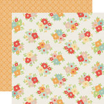 Echo Park - Sweet Day Collection - 12 x 12 Double Sided Paper - Blissful Floral