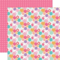 Echo Park - It's Your Birthday Girl Collection - 12 x 12 Double Sided Paper - Birthday Girl Party Fans
