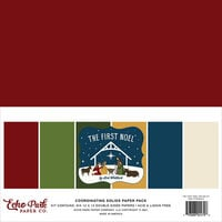 Echo Park - The First Noel Collection - 12 x 12 Paper Pack - Solids