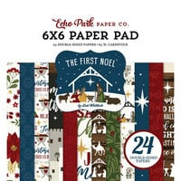 Echo Park - The First Noel Collection - 6 x 6 Paper Pad